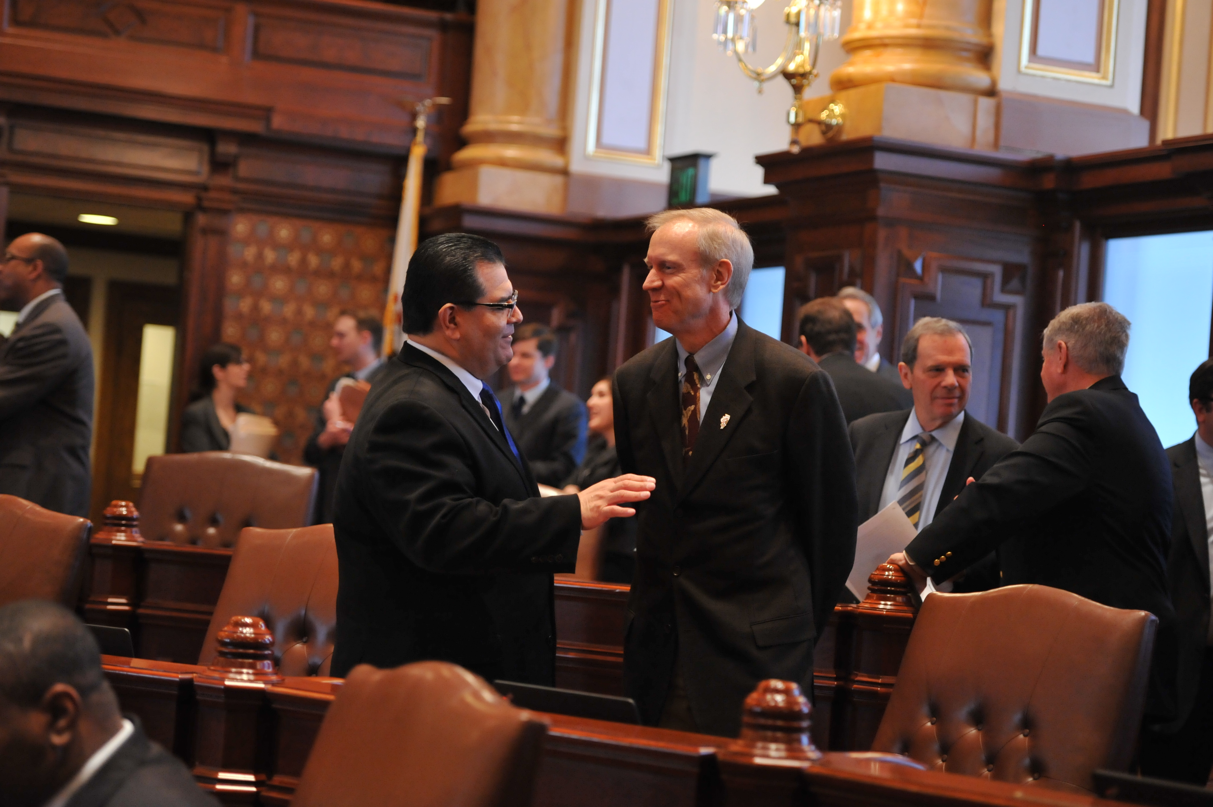 Sandoval and Gov. Rauner